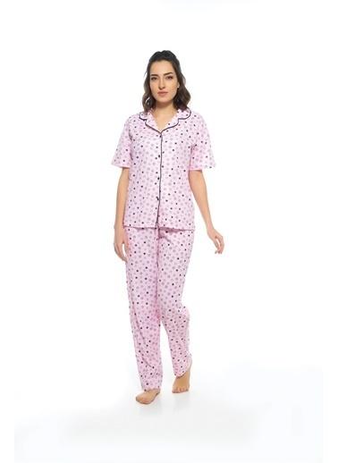 Estiva Pijama Takım Pembe